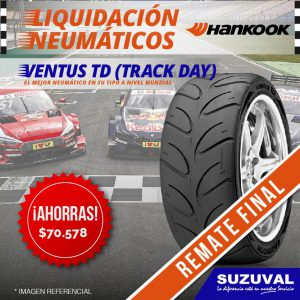 NEUMATICOS HANKOOK COMPETICION SUZUVAL RALLY