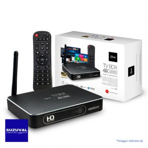 Tv Box 4k Microlab - Smart Tv CYBERQUINTA